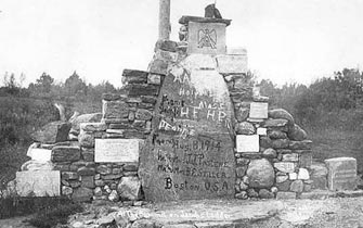 Cairn, before 1920