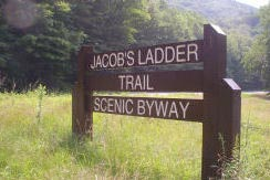 Jacob's Ladder Trail eastern gateway